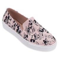 Mickey Mouse Sneakers for Adults by Melissa - Pink