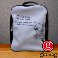 Ohana Disney Lilo and Stich Backpack for Student