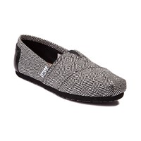 Womens TOMS Classic Diamond Casual Shoe