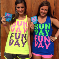 SUNDAY FUNDAY Tanks!
