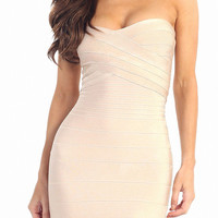 Kim Strapless Dress
