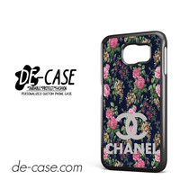 Floral Chanel 1 For Samsung Galaxy S6 Samsung Galaxy S6 Edge Samsung Galaxy S6 Edge Plus Case Phone Case Gift Present YO