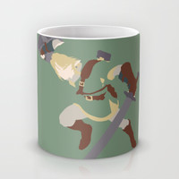 The Legend of Zelda - Link Mug by TracingHorses
