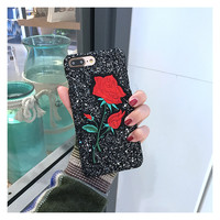 Iphone 6/6s Cute Stylish Innovative Embroidery Korean Phone Case [11686938895]
