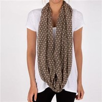 Stephan and Co. Juniors Polka Dot Infinity Scarf at Dry Goods