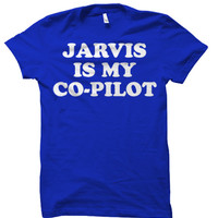 "MARVEL Avengers Age of Ultron - Iron Man ""Jarvis Is My Co-Pilot"" Tee Shirt"