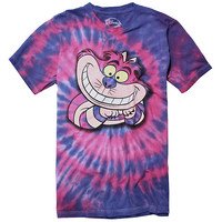 Disney Alice In Wonderland Tie Dye Cheshire Cat T-Shirt