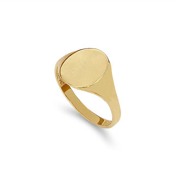 Best Gold Signet Pinky Ring Products on Wanelo