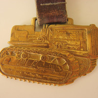 Very Old Caterpillar Tractor Company Peoria Illinois Watch Fob