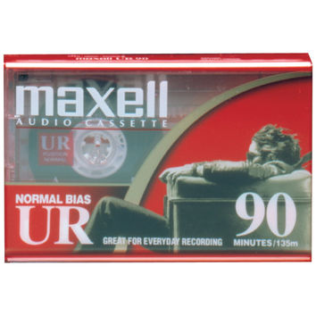 MAXELL Normal Bias Audio Tapes (Single) 108510 108510 25215111617