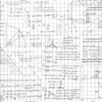 Grid Paper School Drawings Vinyl Backdrop - 5x6 - LCCR2123 - LAST CALL