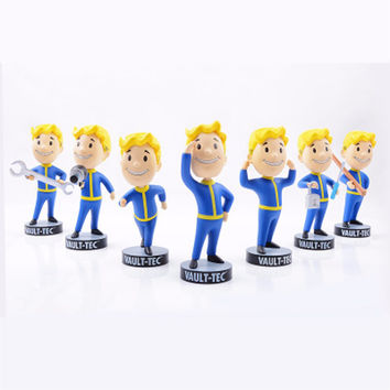 Fallout 4 Vault Boy Bobblehead Action Figure