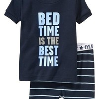 "Old Navy ""Bed Time"" PJ Sets For Baby"