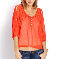 Flowy Crepe Woven Top