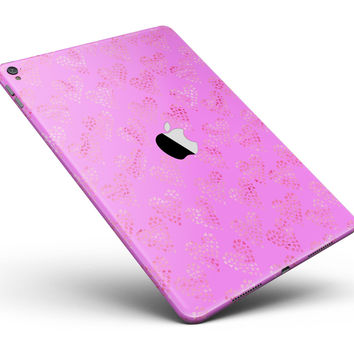 "The Vibrant Pink Tiny Hearts of a Whole Full Body Skin for the iPad Pro (12.9"" or 9.7"" available)"