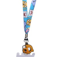 Adventure Time Blue Character Lanyard - 176896