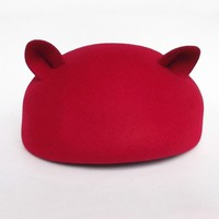 Lovely Cat Ear Beret