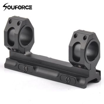New Tactical Scope 25.4mm/30mm Weaver Picatinny Rings QD Mounts Bases With Auto Lock for 20mm Picatinny Weaver Rail Hunting