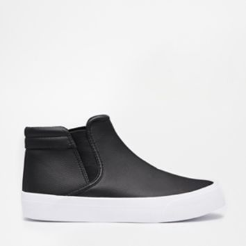 ASOS DROP DEAD Plimsoll Booties at asos.com