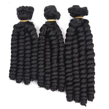 Curly Bouncy Synthetic Hair Extensions