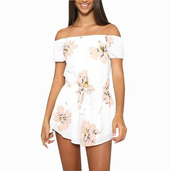 Romper Floral Printed Style
