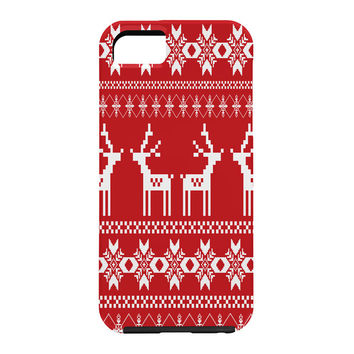 Natt Christmas Red Deer Cell Phone Case