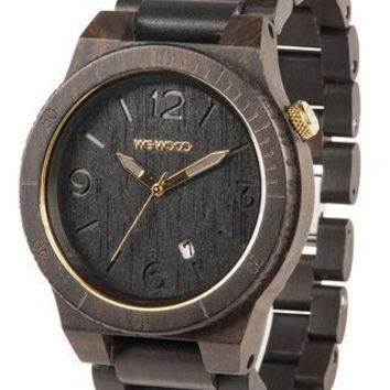 Alpha Watch Black and Gold by WeWood