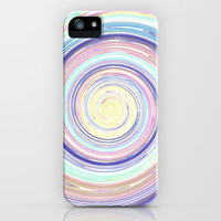 Re-Created Spin Painting No. 35 iPhone & iPod Case by Robert Lee