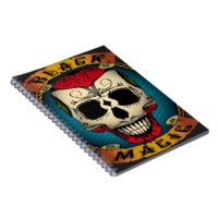 Black Magic Voodoo Note Book