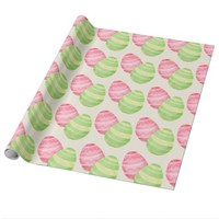 Easter egg wrapping paper