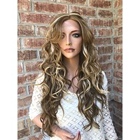 Summer Blonde Multi Balayage  Lace Wig 24""