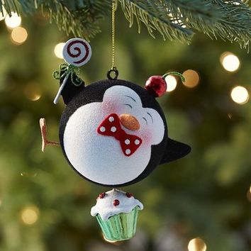 Glitter Penguin on Cupcake Ornament$4.76$5.95