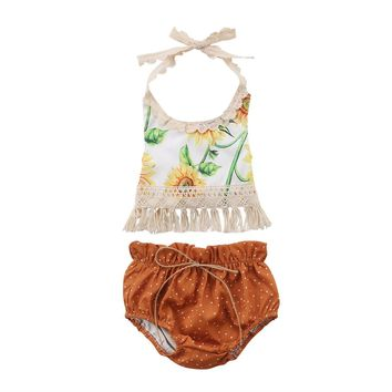 Sunflower Bohemian Set 6-24M