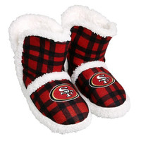 San Francisco 49Ers  Official NFL Flannel Sherpa Boots