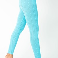 rsacc301 - Acrylic Blend Cable Knit Legging