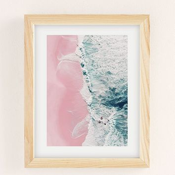 Ingrid Beddoes Sea Of Love Art Print | Urban Outfitters