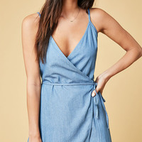 MinkPink Boundary Wrap Romper at PacSun.com