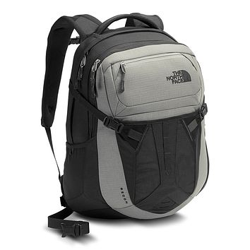 Recon Backpack in Limestone Grey and Asphalt Grey by The North Face