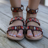 CHINESE LAUNDRY Phoebe Leather Sandals