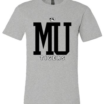 Official NCAA University of Missouri Tigers Mizzou Tigers MU Women's Unisex T-Shirt - 80MSMO