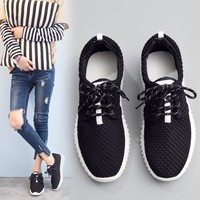Hollow mesh Yeezy Boost Running Sneakers Sports Shoes