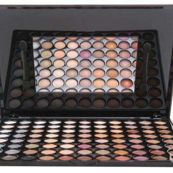 88 Color Eyeshadow Palette Professional Cosmetic Makeup Tool Set