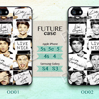 One Direction iphone 4 case Boy Band Star iPhone Case iphone 4s case iphone 4g case Hard or Soft Case-OD02
