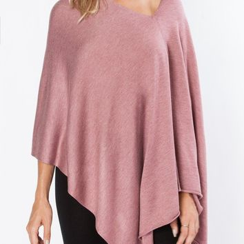 8-Way Convertible Poncho Shawl - 18 color options