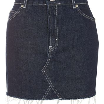MOTO Contrast Stitch Skirt - Sale - Sale & Offers
