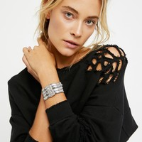 Free People Snake Chain Multi Cuff