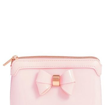Ted Baker London Layered Bow Makeup Bag | Nordstrom