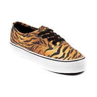Vans Authentic Skate Shoe, Brown White, at Journeys Shoes