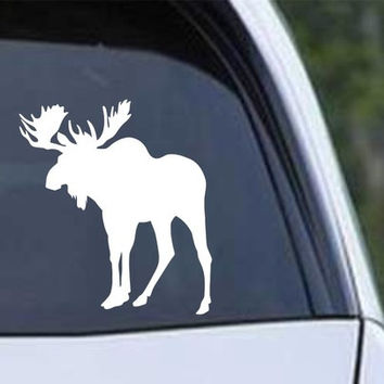 Bull Moose Die Cut Vinyl Decal Sticker