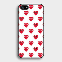 Comme Des Garcons Heart Have eyes heart Plastic Hard Cover Case for iphone 4/4s/5/5s/5c/6/6plus